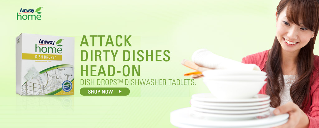 AMWAY HOME - DISH DROPS™ Dishwasher Tablets