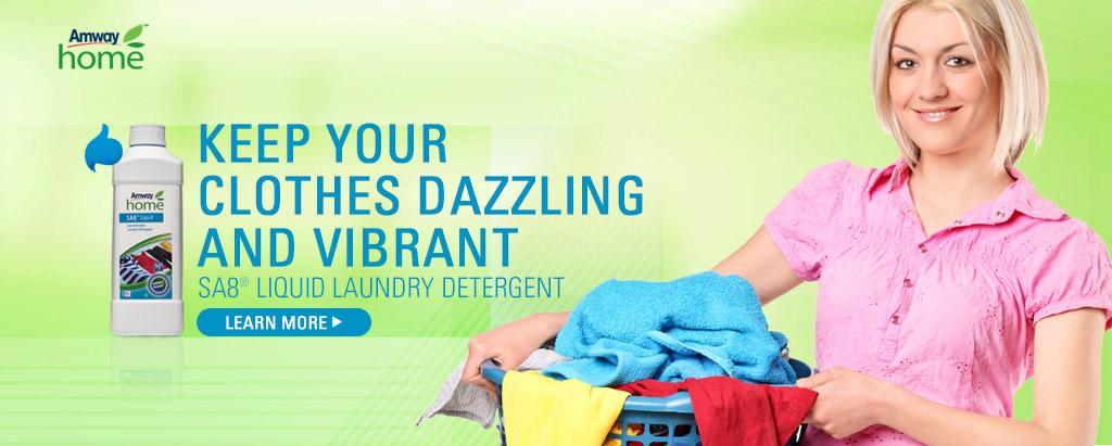 SA8® liquid Laundry Detergent