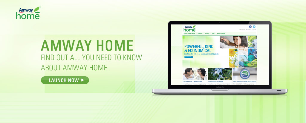 Amway Home Website