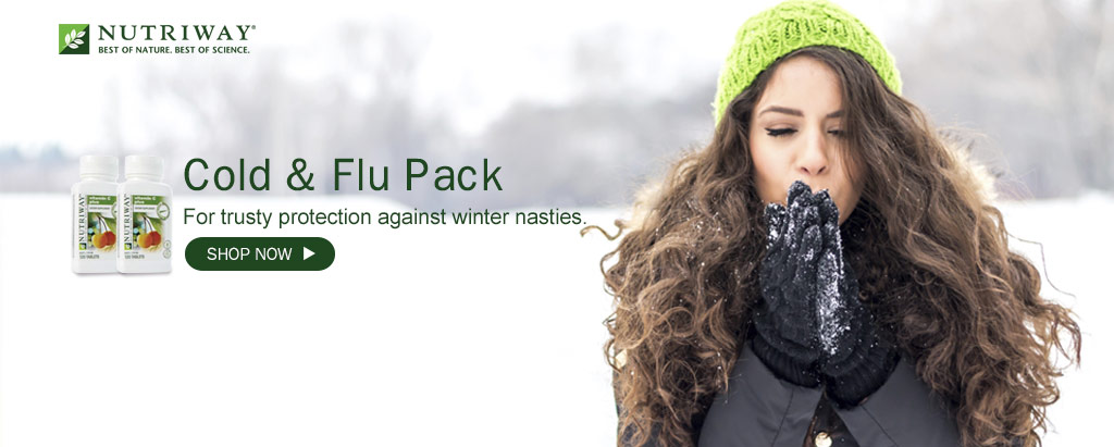 NUTRIWAY - Cold and Flu Pack