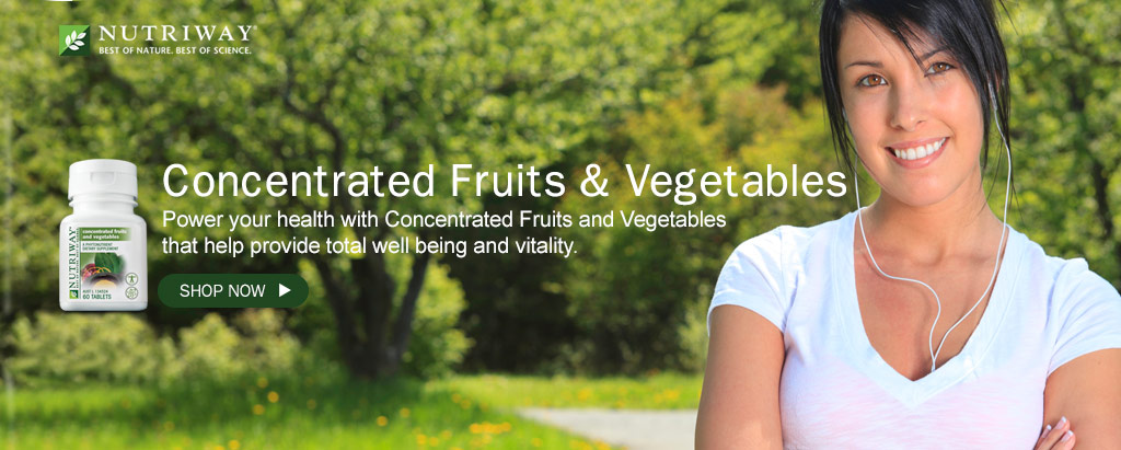 NUTRIWAY - Concentrated Fruits & Vegetables