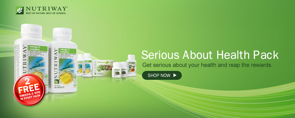 NUTRIWAY Serious about health pack