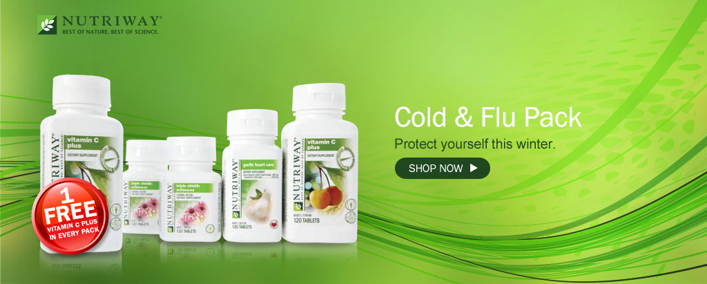 NUTRIWAY® Cold and Flu pack