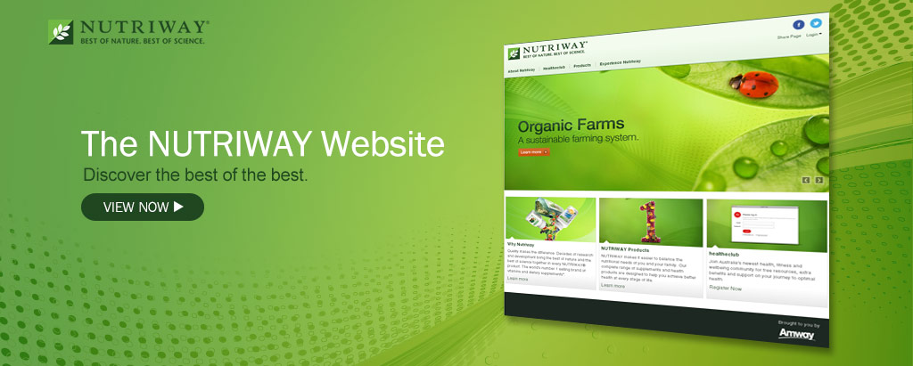 The New NUTRIWAY Website