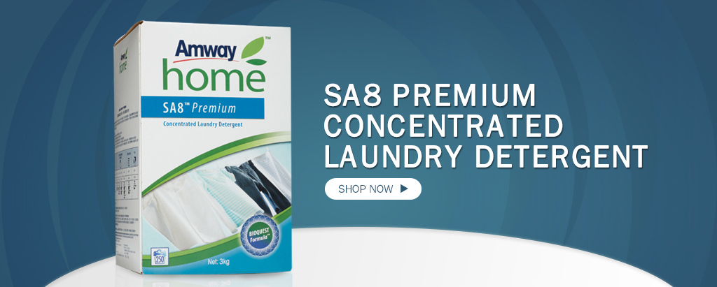 Amway Home - SA8 Premium Concentrated Laundry Detergent