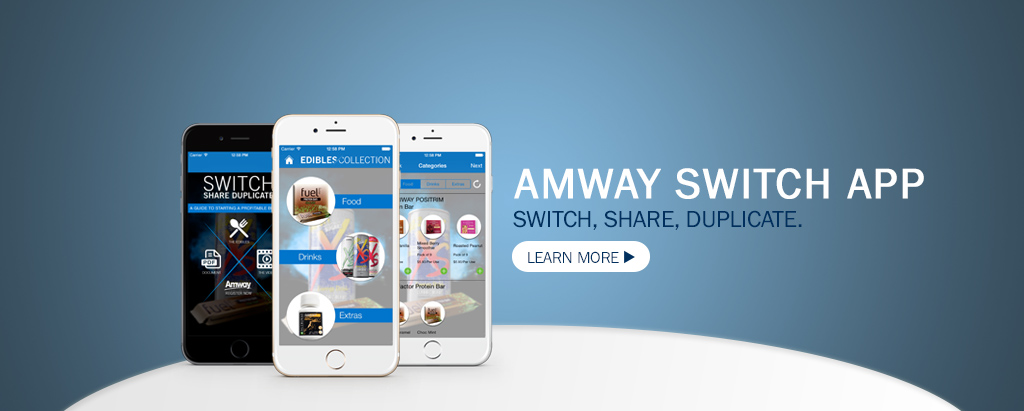Amway switch App