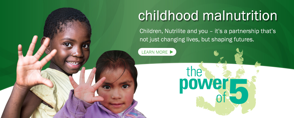 THE NUTRILITE POWER OF 5 CAMPAIGN