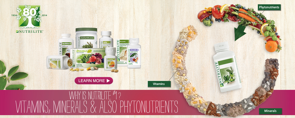 WHY NUTRILITE IS #1?