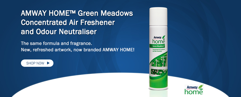 AMWAY HOME™ Green Meadows Concentrated Air Freshener and Odour Neutraliser