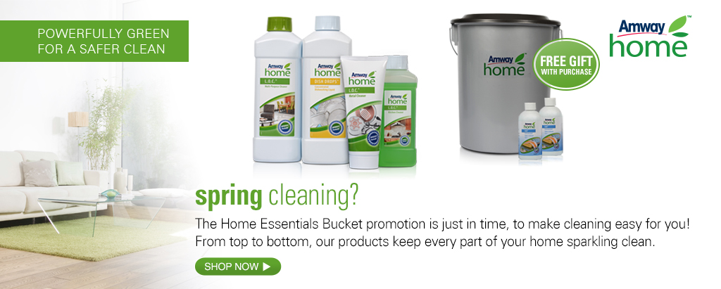 AMWAY HOME™ Home Essential Bucket Promotion