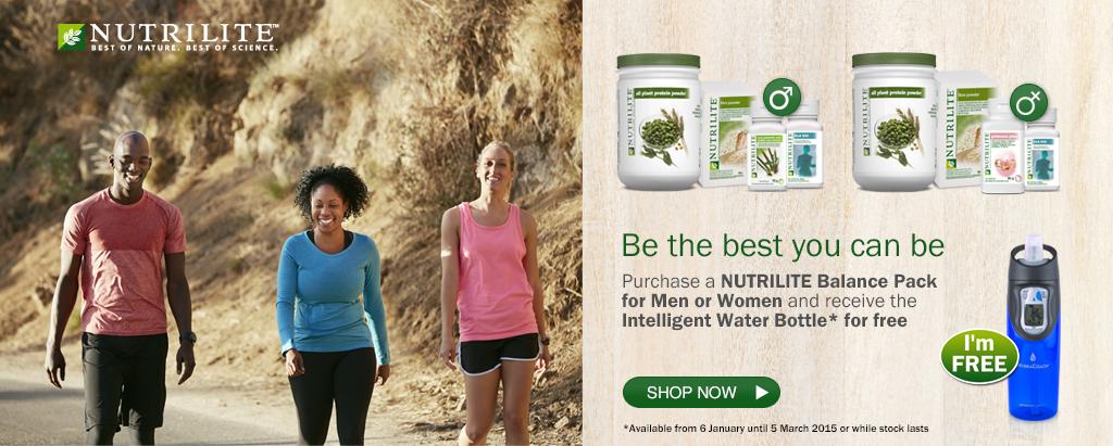 Nutrilite Balance Pack Promotion