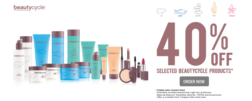 beautycycle promotion
