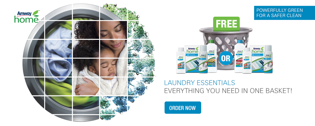 Amway Home SA8 Laundry Essentials