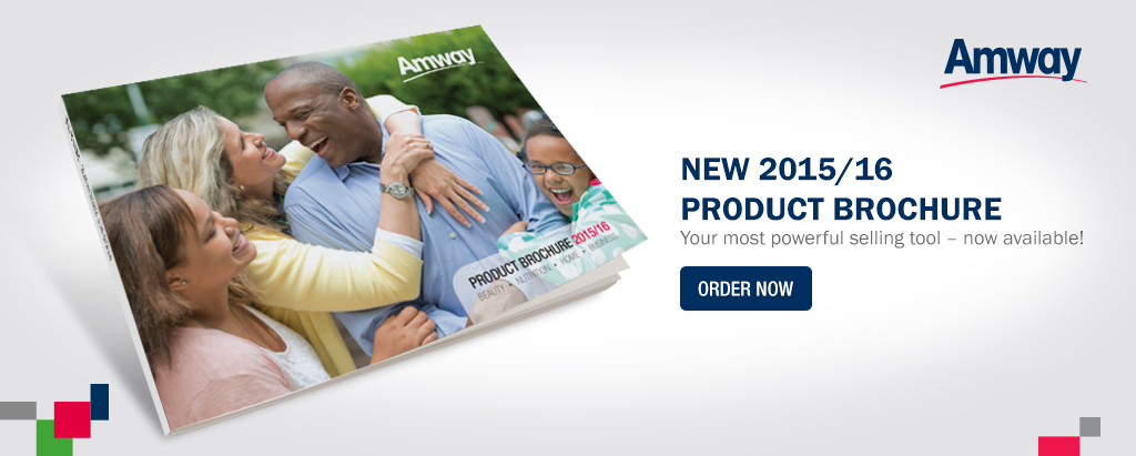 Amway Product Brochure 2015/16