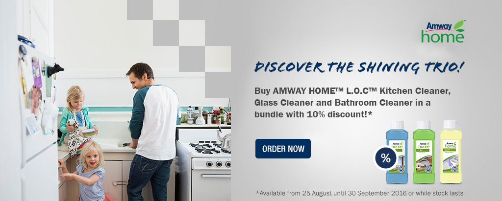 Amway Home L.O.C. Spring Cleaning Bundle