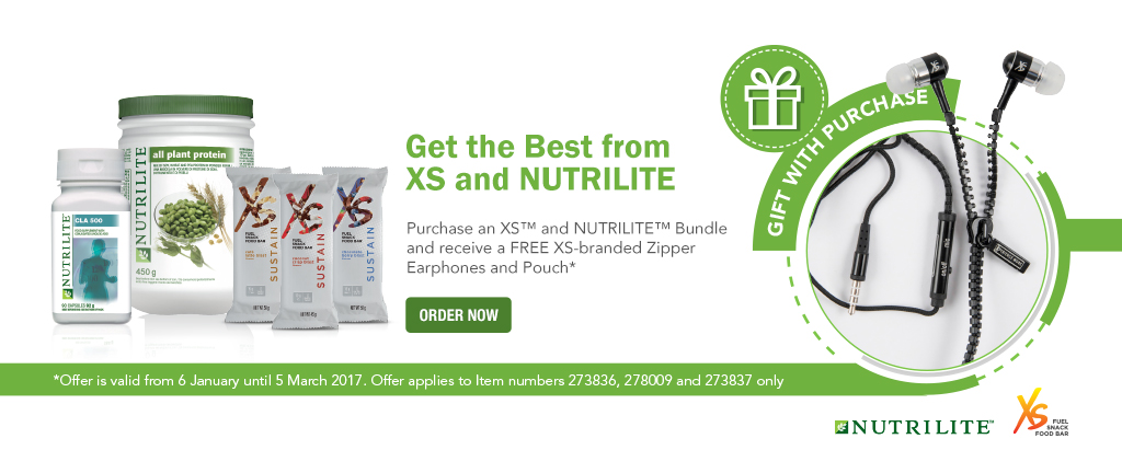 XS and NUTRILITE Bundles