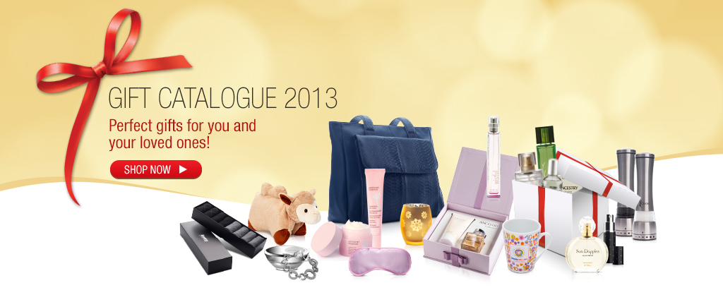 Gift Catalogue 2013