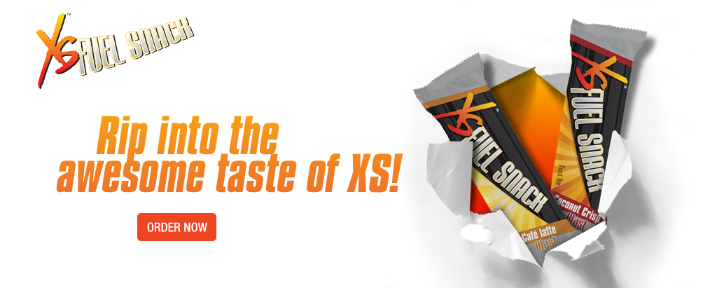 XS Fuel Snack Food Bars
