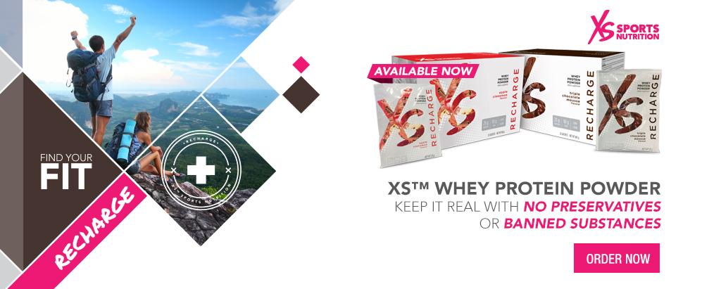 XS™ Whey Protein Powder